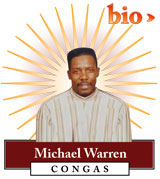 Michael Warren - Congas